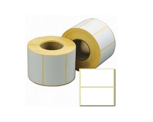 Этикетки для принтера 30*20 мм чистые 2000 штук в рулоне